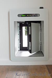 Sureflap mikrochip katzenklappe wei prima for Klimaanlage fenstereinbau